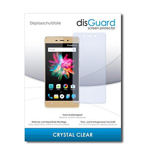 disGuard® Bildschirmschutzfolie [Crystal Clear] kompatibel mit Allview X3 Soul Mini [3 Stück] Kristallklar, Transparent, Unsichtbar, Extrem Kratzfest, Anti-Fingerabdruck - Panzerglas Folie, Schutzfolie
