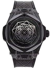 Hublot Big Bang Reloj mecánico (automático), Esfera Negra, para Hombre, 415