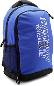 Flying Machine Backpack(Sky Blue, Size - 16)
