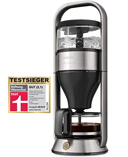 PHILIPS HD5413/00 Cafe Gourmet Filter-Kaffeemaschine, Direkt-Brühprinzip, Edelstahl