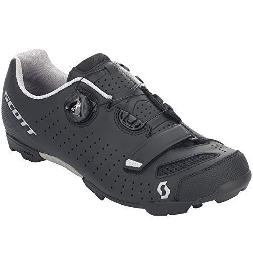 Scott MTB Comp Boa Fahrrad Schuhe schwarz/silberfarben 2020: Größe: 43