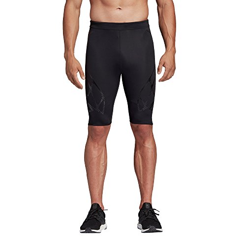 adidas Adizero Tight Leggings Sportivi Uomo Nero 52