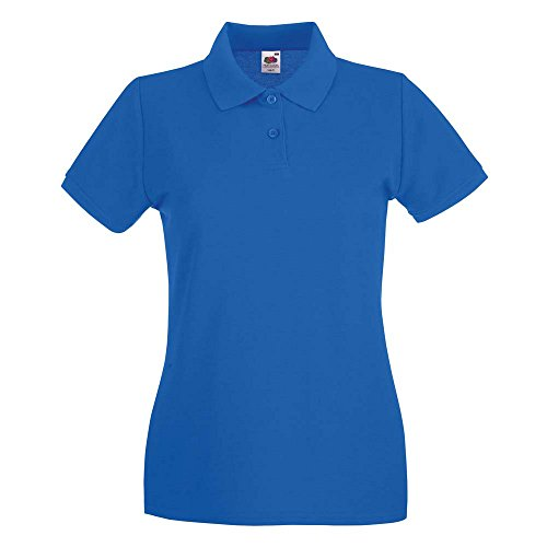 Fruit of the Loom -  Polo  - Donna Royal Blue