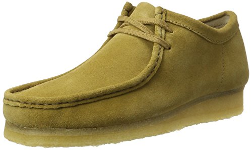 Clarks originals 261283607, mocassini uomo, marrone (dark ochre sde), 43 eu