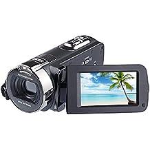 "PYRUS Cámara de vídeo digital 24MP 1080P Cámara de vídeo digital con pantalla LCD de 2.7 ""Zoom digital de 16x (312)"