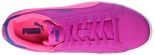 Puma Smash Fun Buck Jr, Sneakers Basses Mixte Enfant Rose (Ultra Magenta-knockout Pink 09)