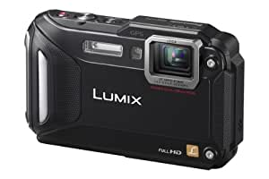 Panasonic Lumix DMC-FT5EB-K Compact Camera - Black (16.1MP, 4.6x Optical Zoom with Leica DC Lens, Wi-Fi with NFC, 28mm Wide Angle, 12m Waterproof, 2m Shockproof, Freeze-Proof)