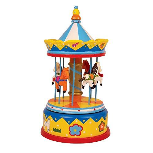 Small foot company - giostra con cavalli carillon