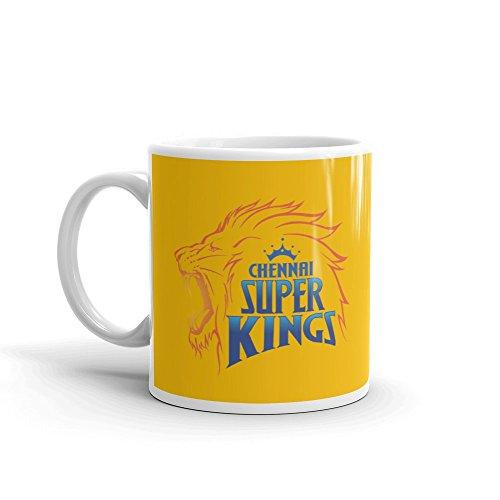 Grabdeal Most Favorite Chennai Super Kings Coffee mug For IPL Lover