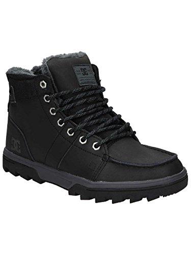 DC Shoes Woodland M, Stivaletti a Gamba Corta MOD. Classics, Senza Imbottitura Uomo Noir - Black/Black/Grey