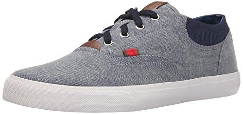ben-sherman-steven-uomo-us-10-grigio-scarpe-ginnastica