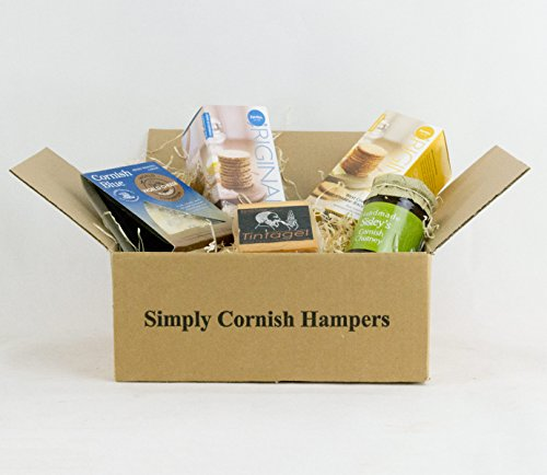 Cheese & Biscuit Taster Hamper In A Standard Carton