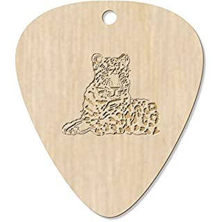 Azeeda 7 x 'Amur Leopard' Guitar Picks / Pendants (GP00008045)