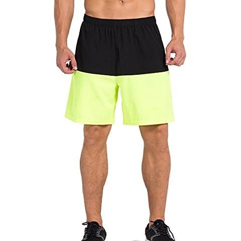 Cody Lundin® Uomo Compressione Interno All'aperto Sport Pantaloncini Formazione Palestra Pallacanestro Casuale sciolto Woven Pantaloni