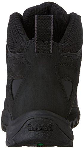 Timberland Men's Mt. Monroe Mid Waterproof Boot, Black, 10 M US Black