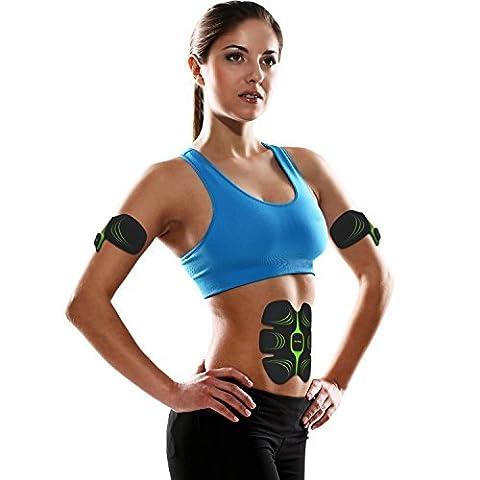 Appareil de Musculation Abdominale Unisexe Ceinture de Musculation Abdominale pour Sport perdre du poids un ventre plat et des abdos bien dessinés