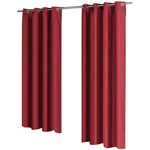2pcs Gräfenstayn® Latika cortinas oscurecimiento