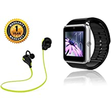 Raptas Bluetooth A1 Smart Watch Supports 3G, 4G Phones With Camera,SIM Card Support,Apps Touch Screen, Multi Language And Bluetooth Headset Jogger Wireless Sports Compatible With All Smartphone. (One Year )