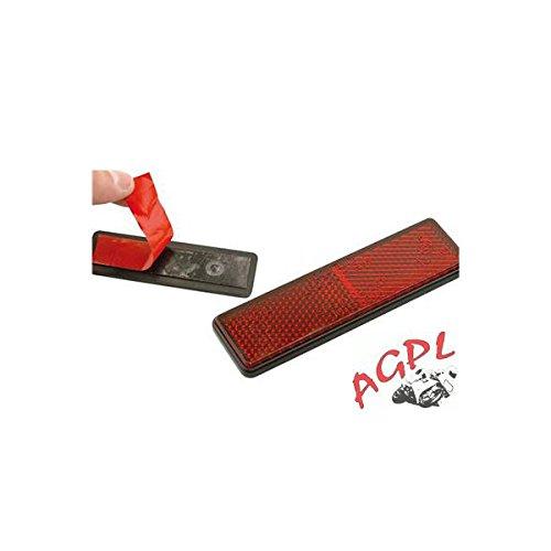 AGPL 449522 - Catadióptrico rojo adhesivo