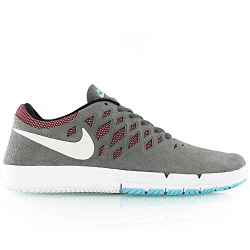 Nike - Free 5.0 Tr Fit 4, Sneaker Donna dark grey white team red black 016