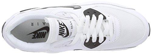 Nike Wmns Air Max 90 Essential, Scarpe sportive, Donna White/Black