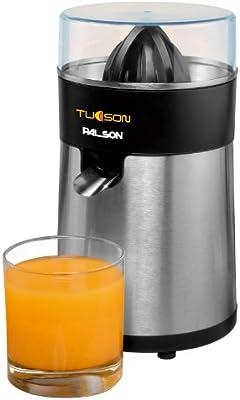 Palson - Exprimidor 30499 Tucson Totalmente En Acero Inox, Boquilla Con Válvula Antigoteo, Totalmente Descmontable 85W
