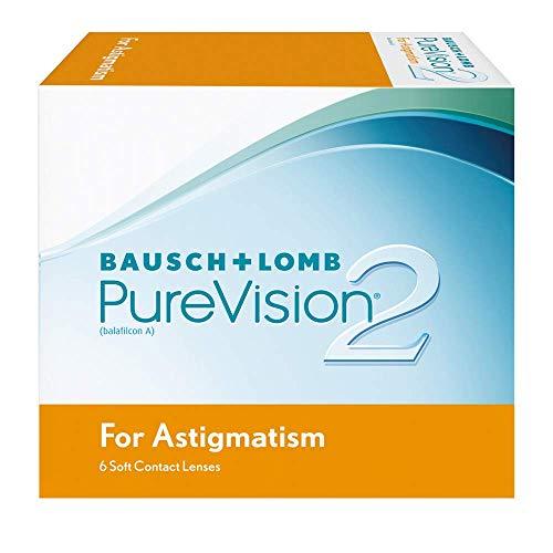PureVision2 HD for Astigmatism Monatslinsen weich, 6 Stück / BC 8.90 mm / DIA 14.5 / CYL -0.75 / ACHSE 180 / -01.5 / Dioptrien
