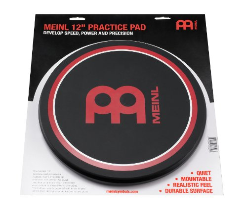 Meinl Cymbals MPP-12 - Pad da allenamento per batteria, 12