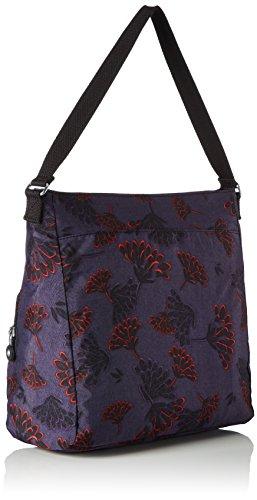 Kipling - Tasmo, Borse a spalla Donna Multicolore (Floral Night)