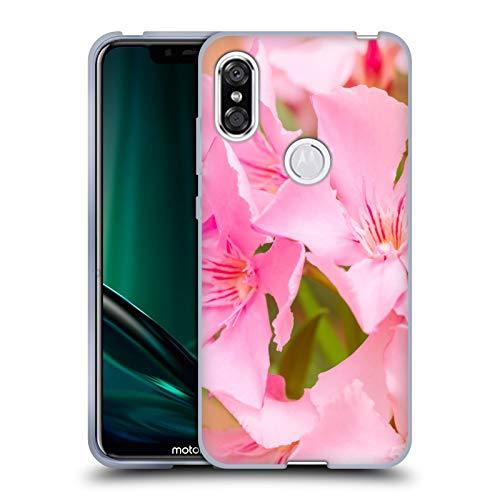 Head Case Designs Offizielle Beli Laurel Blueten Blumen Soft Gel Huelle kompatibel mit Motorola One (P30 Play) -