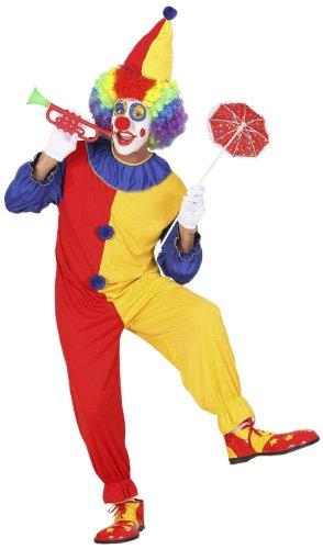 Imagen de widman  disfraz de payaso de circo para hombre, talla m 2702  alternativa