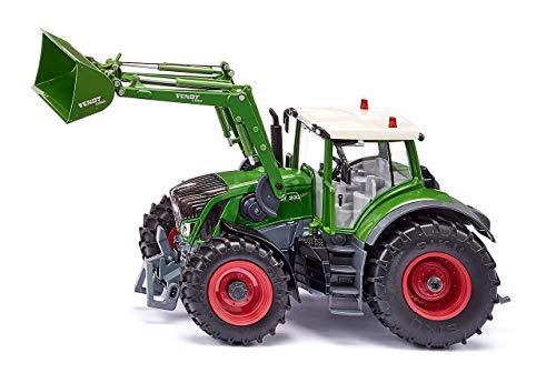 Siku 6793 Fendt 933 Vario mit Frontlader und Bluetooth App-Steuerung Traktor, Farbe kann von der Abbildung abweichen