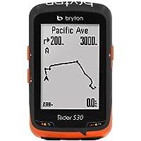 Bryton Rider 530H, Computer GPS mit Sensor Herzfrequenz Unisex–Erwachsene, schwarz, M