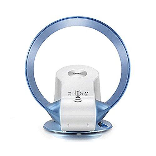 SHOME Air Cool Rotorloser Design-Ventilator,Wand Ventilator,Gebläse Klimaanlage Fan,Fernbedienung, Als Tisch- Oder Wandgerät Einsetzbar / Oszillationsfunktion Ca.90 Grad