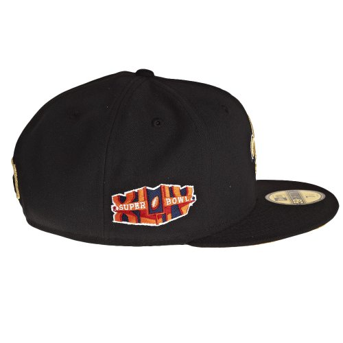 New Era New Orleans Saints 59Fifty Fitted Super Bowl Side Patcher NFL Cap 7 1/4 - 2