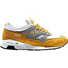 New Balance M1500 Yellow Suede, YG yellow-grey