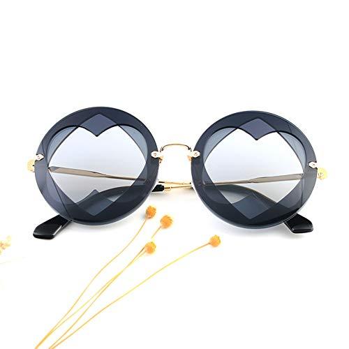 Z&HA Herzförmige Liebe rahmenlose Sonnenbrille, EIN Stück transparent Bonbonfarbenen randlose Brille für Mädchen Party einkaufen Sonnenbrille,03