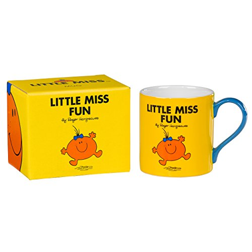 Mr Men et Little Miss 10 x 12,5 x 12,5 x 9,3 cm LM Fun Tasse, Jaune Vif