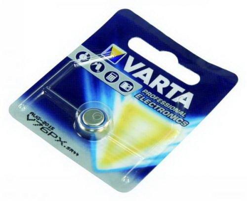 Preisvergleich Produktbild Knopfzelle VARTA Silberoxid - Uhrenbatterie ''V76PX'' 145mAh,  1, 55V,  1er Blister