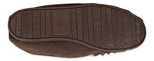 Nordvek Schokoladenbraun 420 100 Per Pantofole L'uomo 1SHc1rq7F