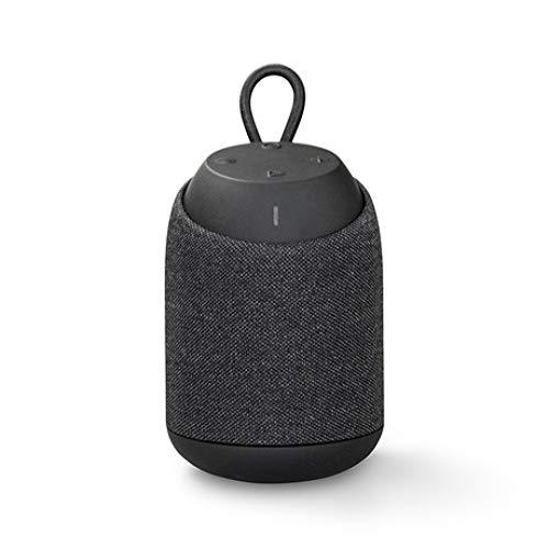 feicahnghao SpeakerFactory direkten drahtlosen Bluetooth-Lautsprecher IPX7 wasserdicht tragbaren Subwoofer im Freien Mini Stereo kleine Stahlpistole, blau (Beat Box Remote)