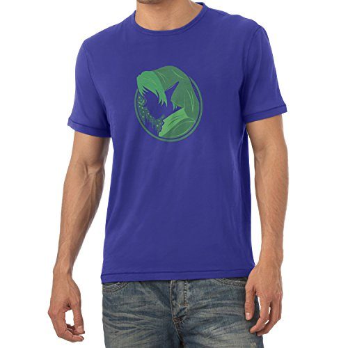 TEXLAB - Green Link - Herren T-Shirt Marine