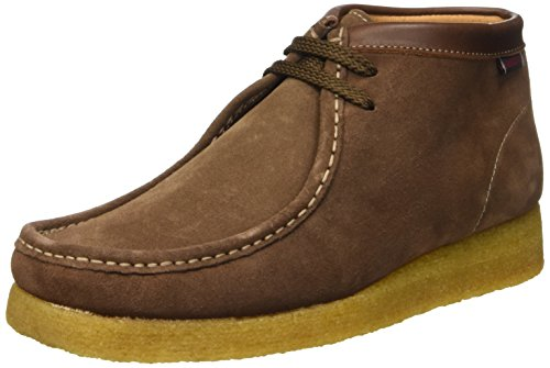 Sebago Koala Hi, Scarpe Brogue Stringate Unisex Adulto, Marrone (Suede Brown), 42 EU