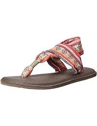 4785e0287867f Kenzo Chaussures KFLY Kenzo soldes Sanuk Sandales Femme Blanc Blanc ...