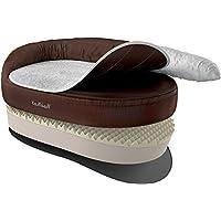 [Gesponsert]Knuffelwuff 12697 Orthopädisches Hundebett Ortho Bed Jessy - Größe XL, 100 x 65 x 28cm, braun