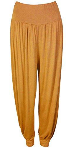 Extras Fashion -  Pantaloni  - Donna Mustard