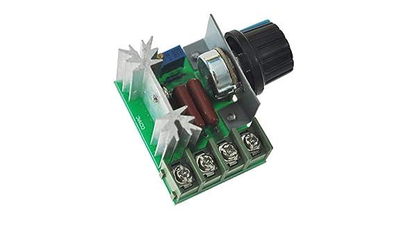lujiaoshout Pressione Elettronica di Controllo 2000W Tensione Dimming Light Speed ??Controllo della Temperatura Regolatore