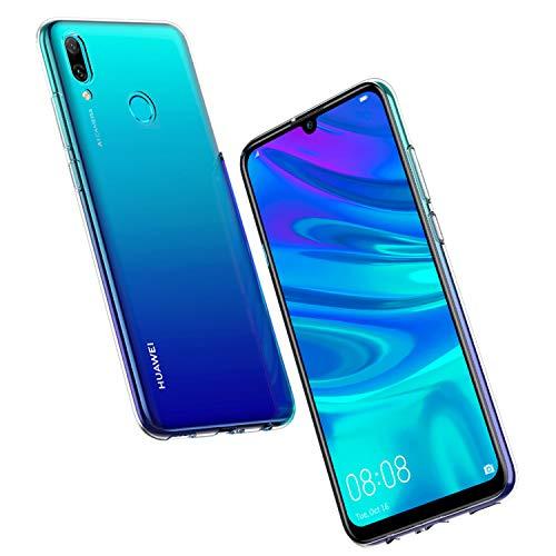 NEW'C Cover per Huawei P Smart 2019 / Honor 10 Lite, Custodia Gel Trasparente Morbida Silicone...
