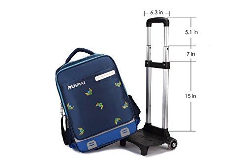 fc2b20d8f4 Zaino borsa trolley scuola viaggio computer tablet I bambini di rotolamento  Zaino. 🔍. vedi ...