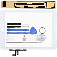 LL TRADER For iPad Air 1st Gen White Touch Screen/Digitizer Front Panel Glass Replacement with Tools and Adhesive